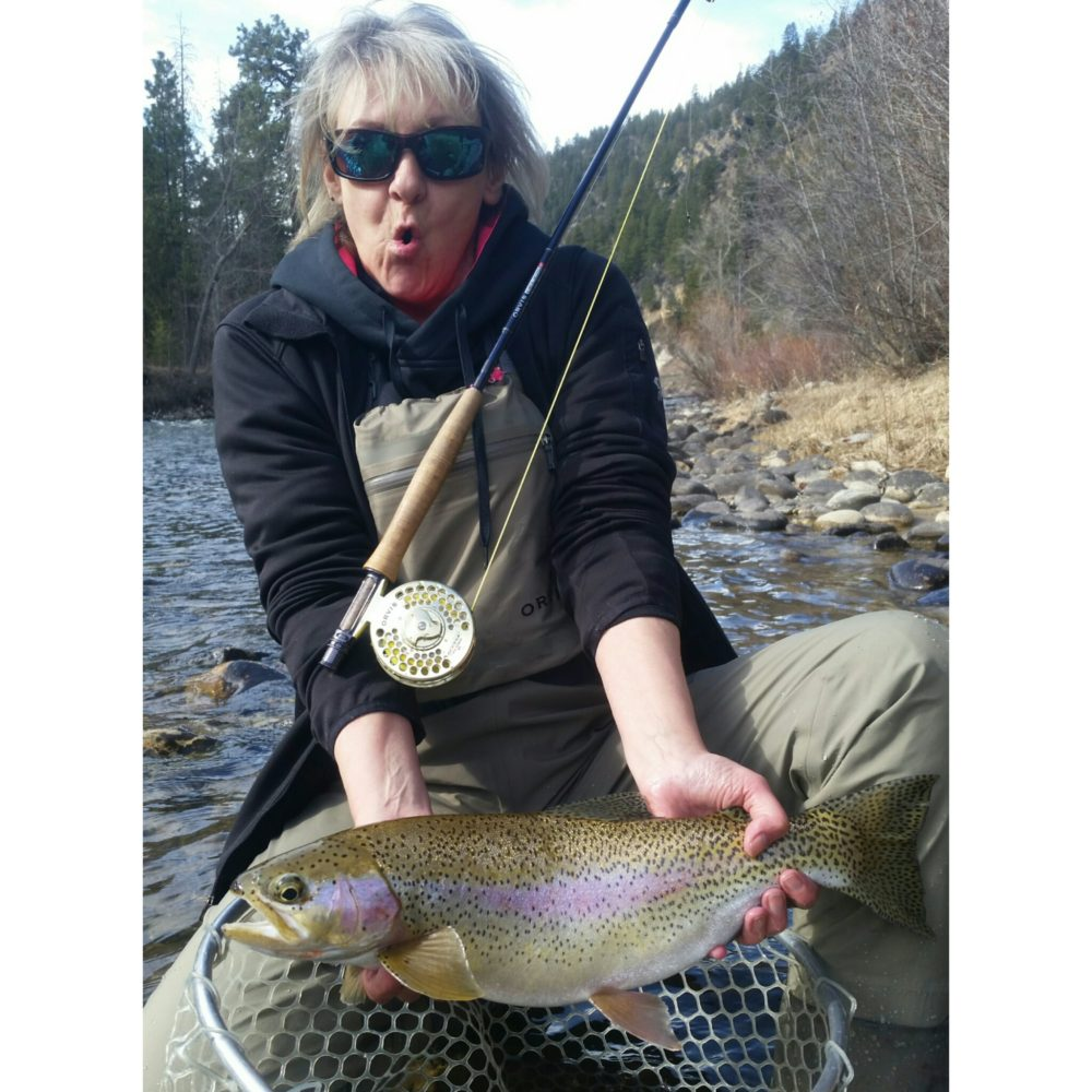 Bitterroot river fly fishing trip half day for Montana fishing trips