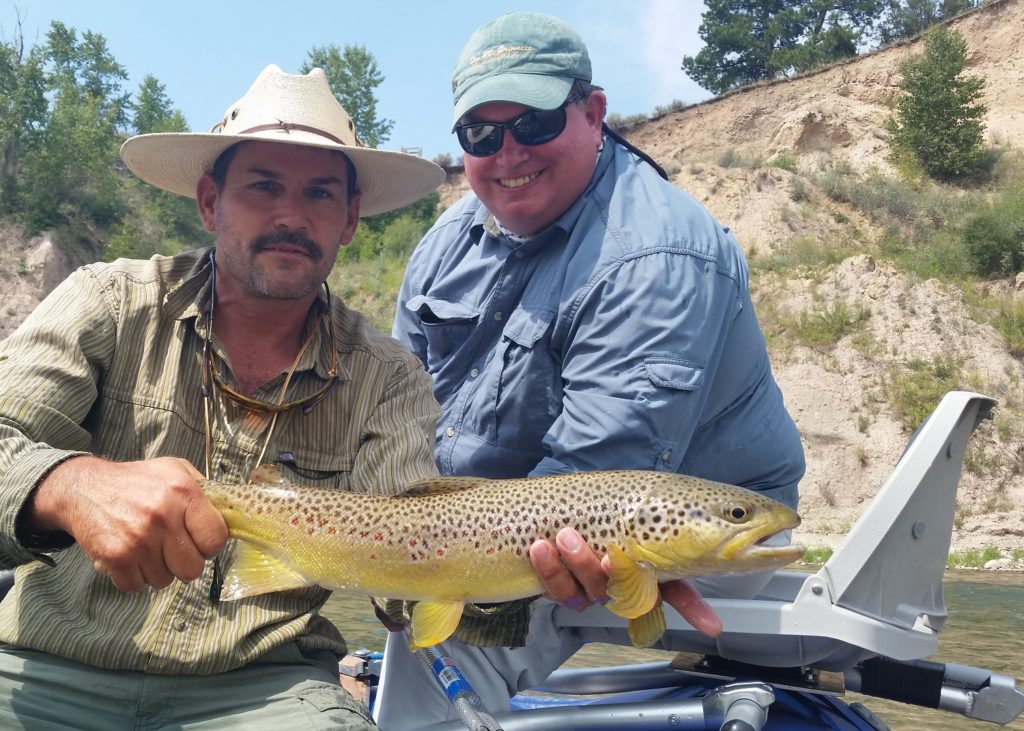 Blackfoot river fly fishing trip float or walk and wade for Montana fishing trips