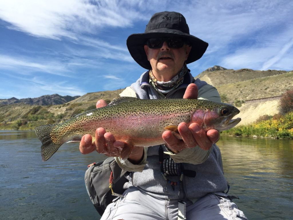 Missouri river fly fishing trip float or walk and wade for Montana fishing trips