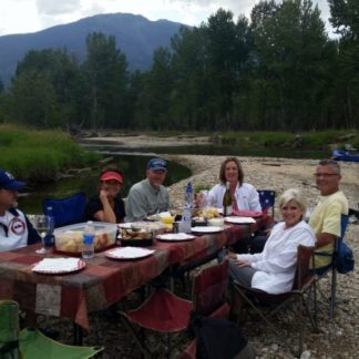 Scenic Montana Rafting Dinner Float Bitterroot River