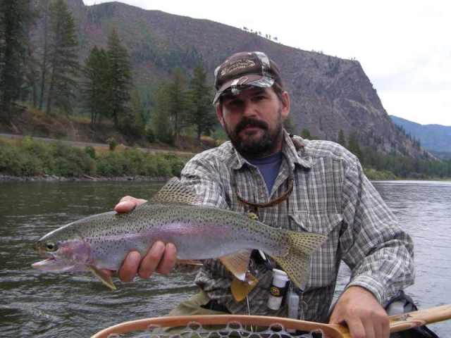 Clark fork river fly fishing trip float or walk and wade for Montana fishing trips