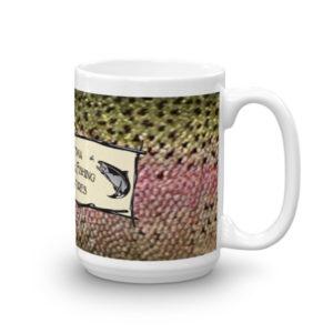 Rainbow Trout Logo Mug