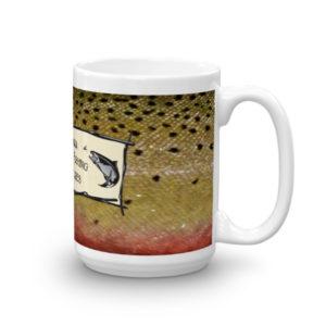 Cutthroat Trout Logo Mug