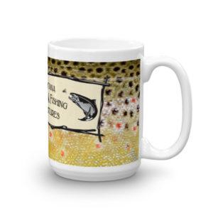 Brown Trout Logo Mug