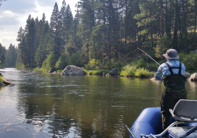 Montana Fly Fishing Adventures Fly Fishing on the West Fork Bitterrroot river
